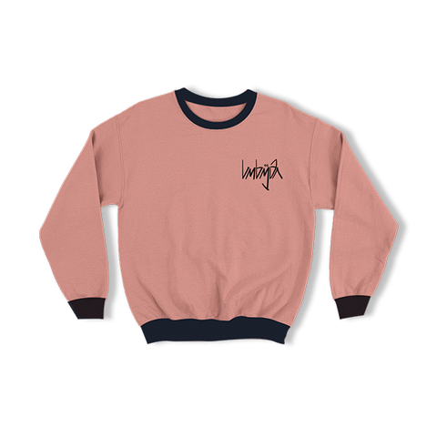 SWEATSHIRT DARK PINK
