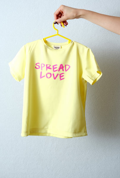Yellow T-shirt SPREAD LOVE
