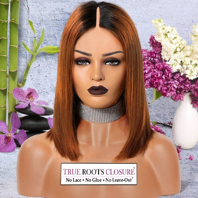BROWN SUGAR - True Roots Closure (this is NOT the Thin-Part Wig)