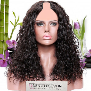 MICHELLE - 10 Minute Sew-in U Part Wig