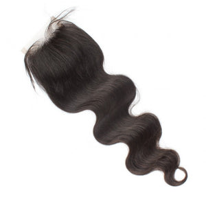 Supreme Luxury Virgin Brazilian Body Wavy LACE CLOSURE