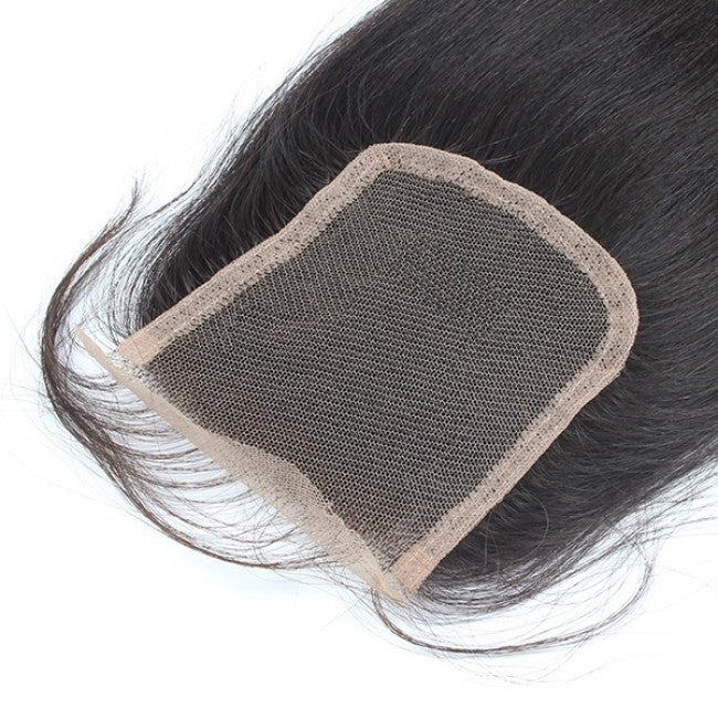 Supreme Luxury Virgin Malaysian Salon Relaxed LACE CLOSURE