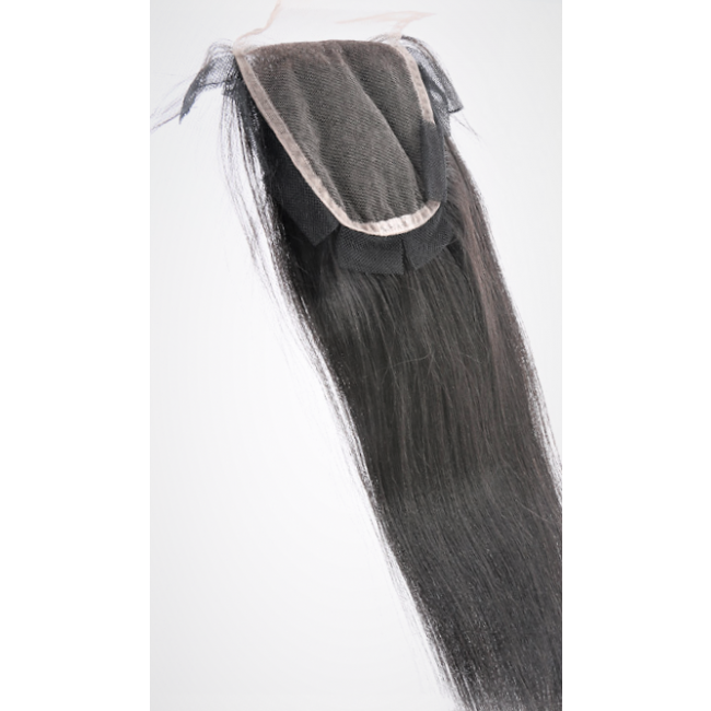 ***NEW Tear Proof/Lay Flat Lace Closure - Traditional Virgin Malaysian Straight Salon Relaxed Texture