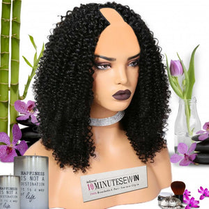 Candice 3b texture - 10 Minute Sew-in U Part Wig