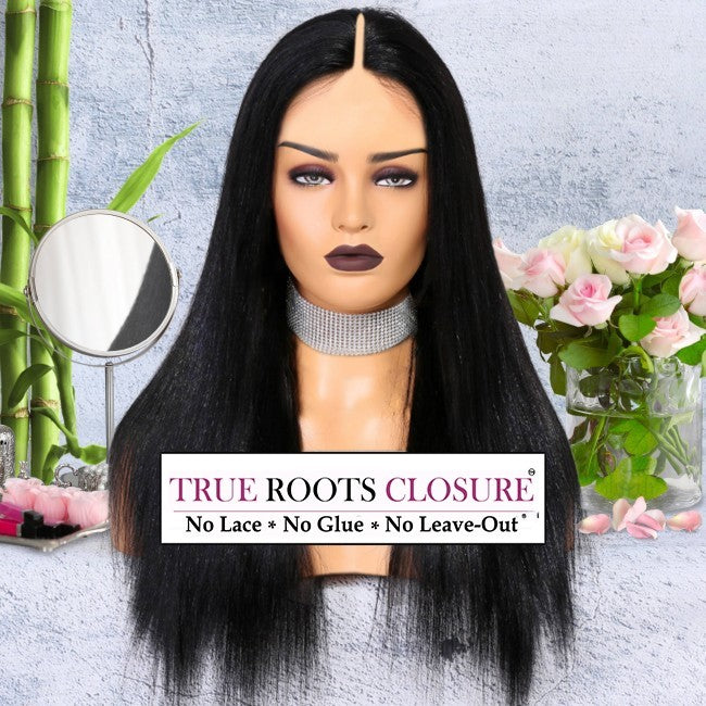 YAKI VOLUME - True Roots Closure (this is not the Thin-Part Wig)