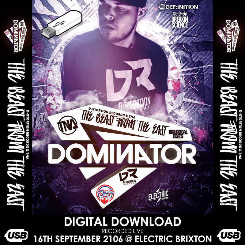 Dominators Memorial Event @Electric Brixton 16th September 2016 (Digital Download)