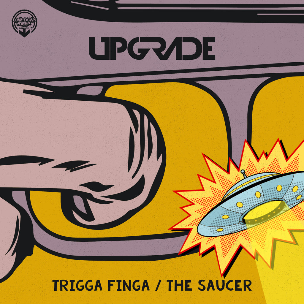 LDD 123 - Upgrade Ft. MC Trigga 'Trigga Finger' | 'The Saucer'