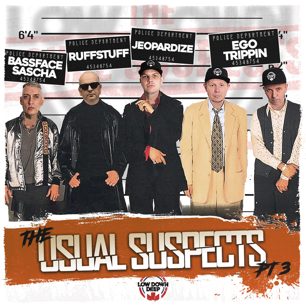 LDD 176 - Various 'The Usual Suspects EP Part 3'