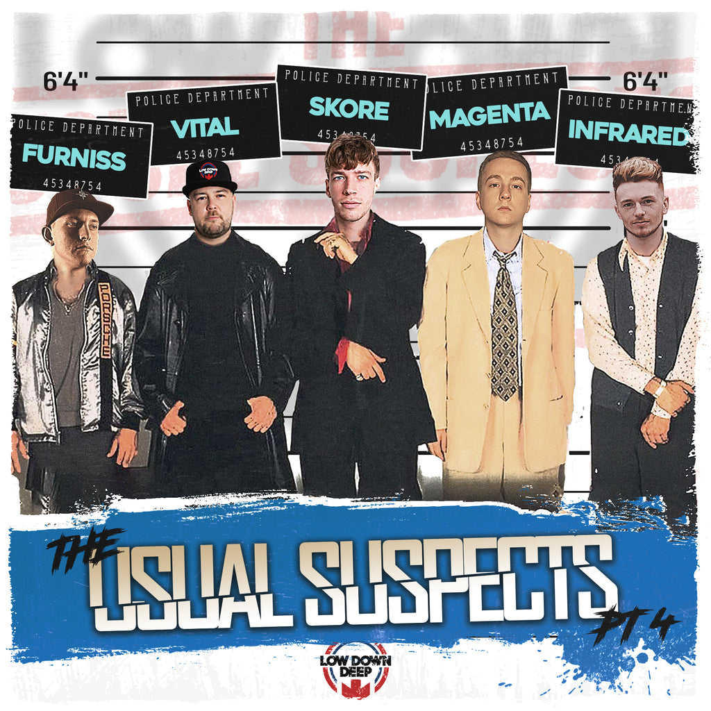 LDD 177 - Various 'The Usual Suspects EP Part 4'