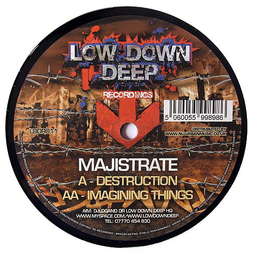 LDD 011 - Majistrate 'Destruction' | 'Imagining Things'