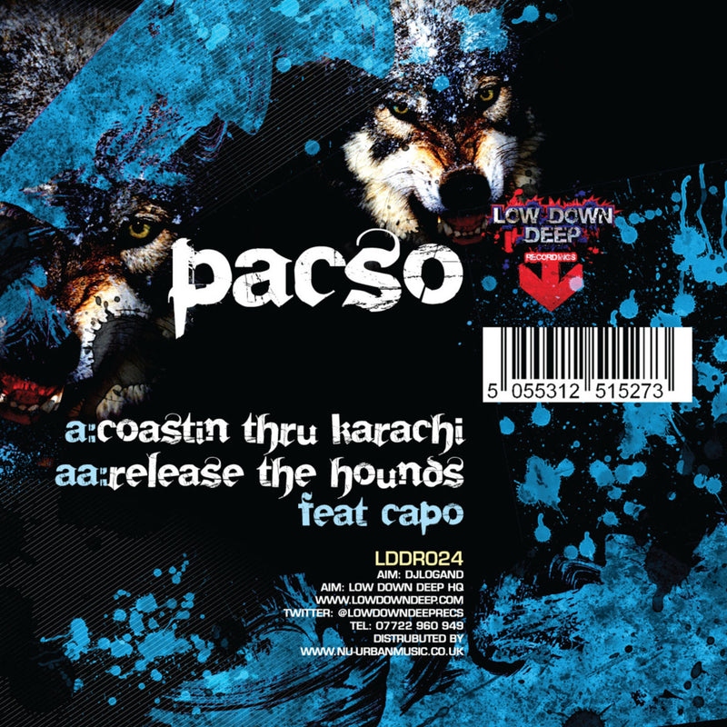 LDD 024 - Pacso 'Coastin Through Karachi' | Pacso Ft. Capo 'Release The Hounds'