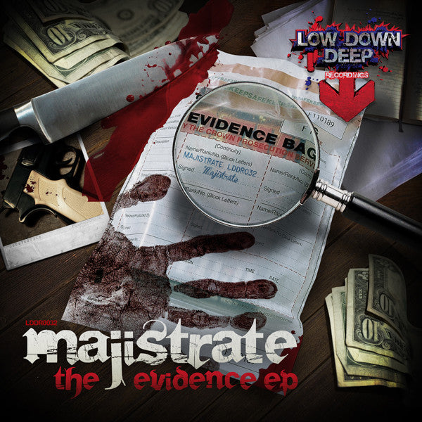 LDD 032 - Majistrate 'The Evidence EP'