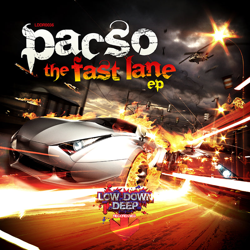 LDD 036 - Pacso 'The Fast Lane EP'