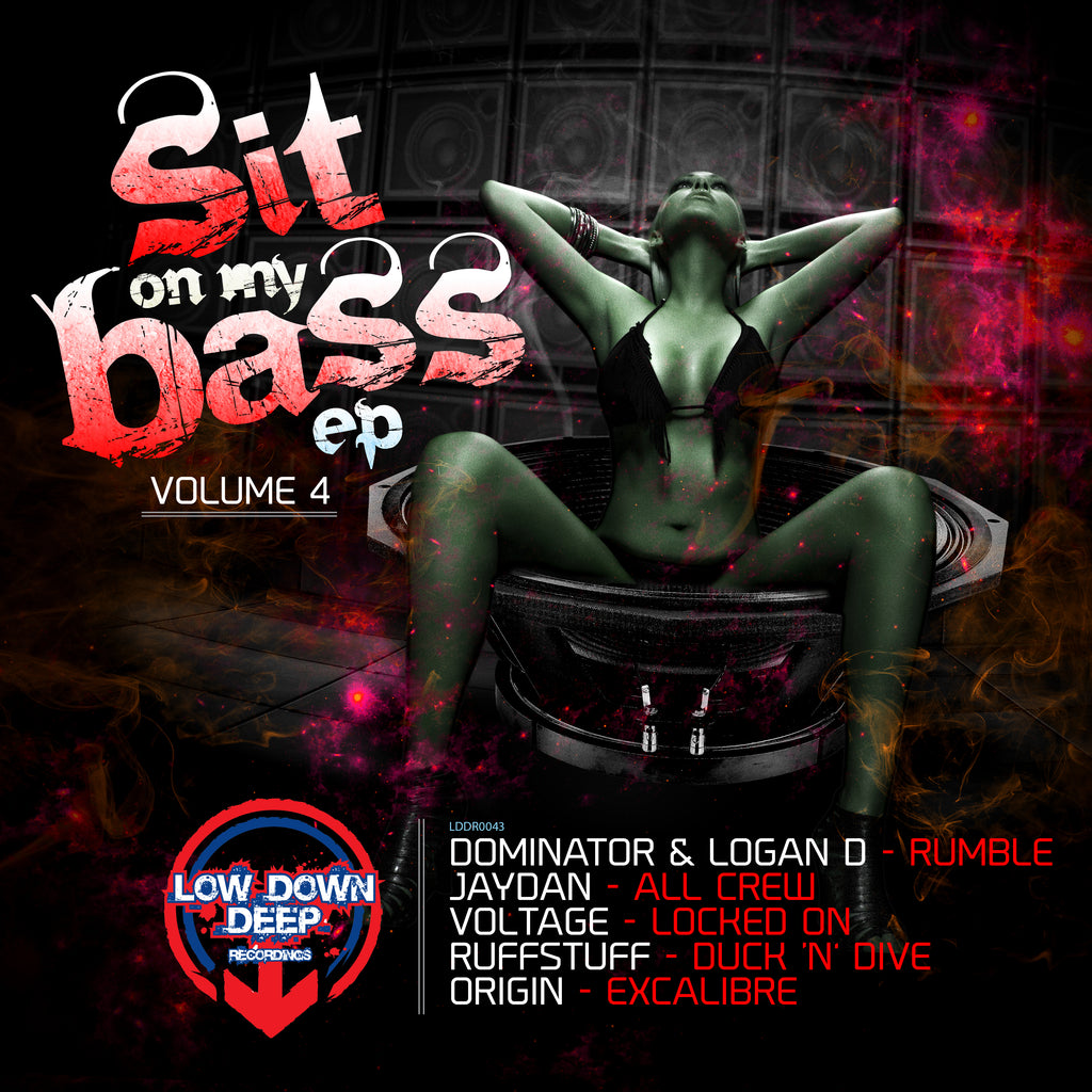 LDD 043 'Sit On My Bass EP' Volume 4