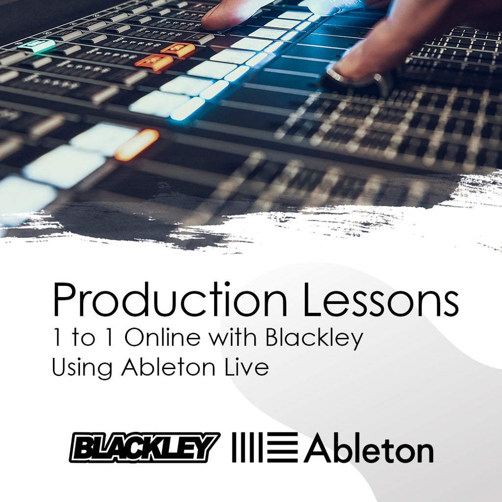Online Production Lessons With Blackley