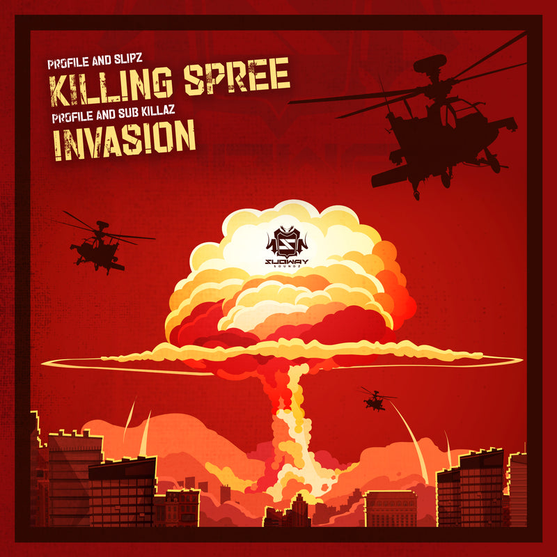 SSLD 045 - Profile & Slipz 'Killing Spree' | Profile & Sub Killaz 'Invasion'
