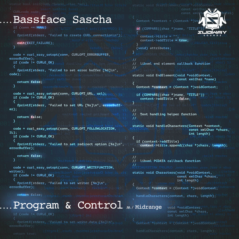 SSLD 056 - Bassface Sascha 'Program & Control' | 'The Midrange'
