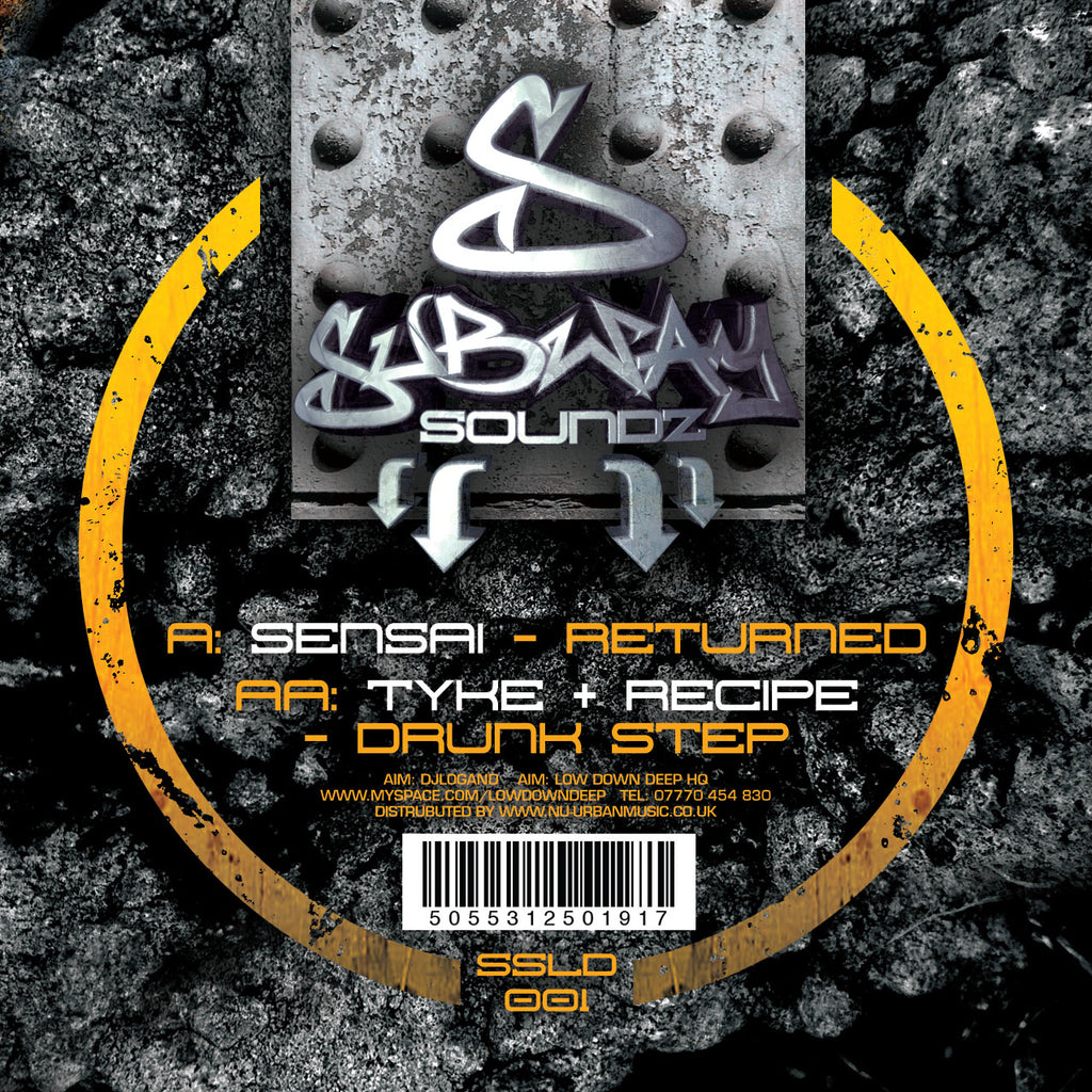 SSLD 001 - Sensai 'Returned' | Tyke & Recipe 'Drunk Step'