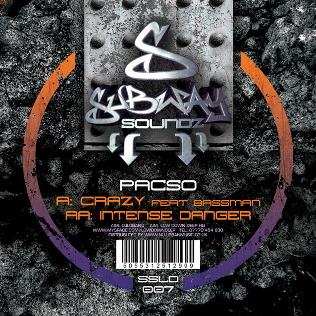 SSLD 007 - Pacso Ft. MC Bassman 'Crazy' | 'Intense Danger'