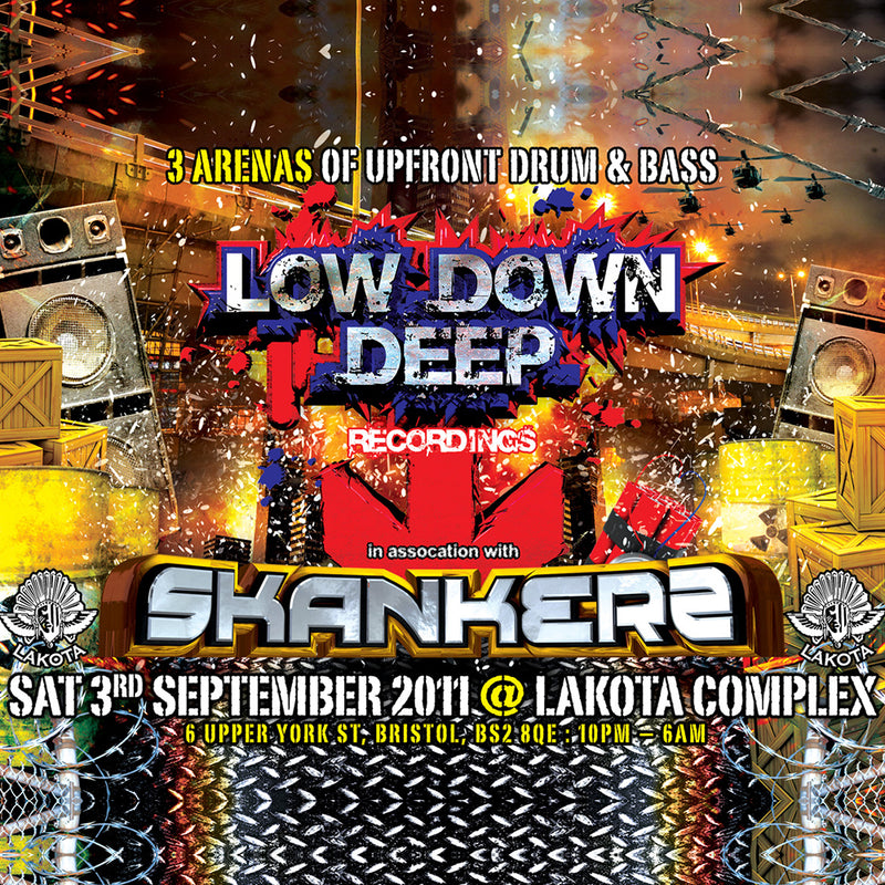 LDD & Skankers @Lakota 3rd September 2011 (Digital Download)