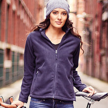 Load image into Gallery viewer, Russell Womens Full Zip Outdoor Fleece