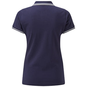 Asquith & Fox  Womens Classic Fit Tipped Polo