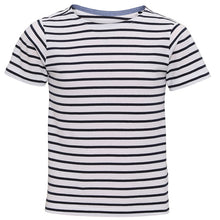 Load image into Gallery viewer, Asquith & Fox  Kids Mariniere Coastal Short Sleeve Tee