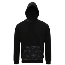 Load image into Gallery viewer, Asquith & Fox  Mens Camo Trimmed Hoodie