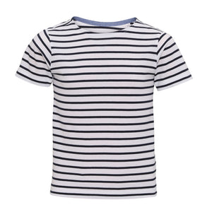 Asquith & Fox  Kids Mariniere Coastal Short Sleeve Tee