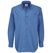 Load image into Gallery viewer, B&c Oxford Long Sleeve /men
