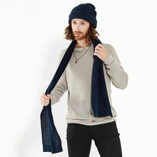 Load image into Gallery viewer, Beechfield Classic Waffle Knit Scarf
