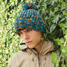 Load image into Gallery viewer, Beechfield  Twister Pom Pom Beanie