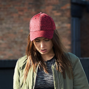 Beechfield  Spacer Marl Stretch-fit Cap