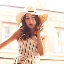 Load image into Gallery viewer, Beechfield  Marbella Wide-brimmed Sun Hat