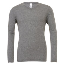 Load image into Gallery viewer, Bella + Canvas Triblend Long Sleeve V-neck T-shirt