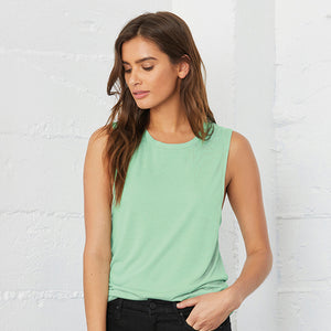Bella + Canvas Flowy Scoop Muscle T-shirt