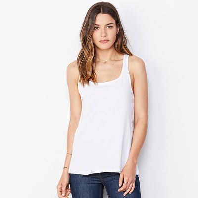 Bella + Canvas Womens Relaxed Jersey Tank Top