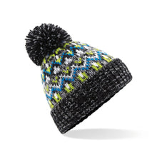 Load image into Gallery viewer, Beechfield  Blizzard Bobble Beanie