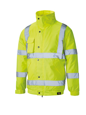 Open image in slideshow, Dickies Hi-vis Bomber Jacket (sa22050)