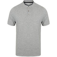 Load image into Gallery viewer, Front Row  Stand Collar Stretch Polo Shirt