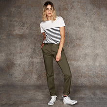 Load image into Gallery viewer, Front Row Womens Stretch Chinos Tagless