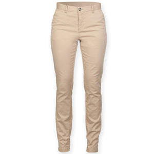 Front Row Womens Stretch Chinos Tagless