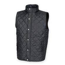 Load image into Gallery viewer, Front Row Diamond Quilt Gilet