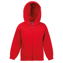 Load image into Gallery viewer, Fruit Of The Loom Classic Kids Hooded Sweatshirt Jacket