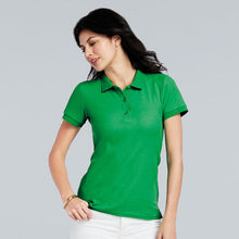 Load image into Gallery viewer, Gildan Womens Premium Cotton Double Piqu Sport Shirt
