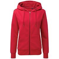 Load image into Gallery viewer, Asquith & Fox  Womens Zip-through Organic Hoodie