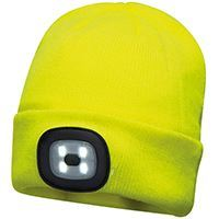 Portwest  Beanie Led Headlight Usb Rechargeable (b029)