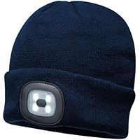 Load image into Gallery viewer, Portwest  Beanie Led Headlight Usb Rechargeable (b029)