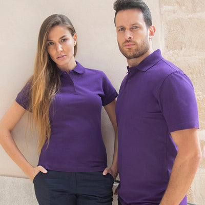 Henbury Womens Stretch Piqu Polo