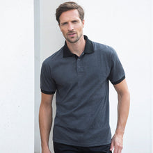 Load image into Gallery viewer, Henbury  Contrast Triblend Polo Shirt